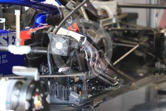World © Octane Photographic Ltd. Formula 1 – Italian GP - Pit lane. Scuderia Toro Rosso STR14. Autodromo Nazionale Monza, Monza, Italy. Thursday 4th September 2019.