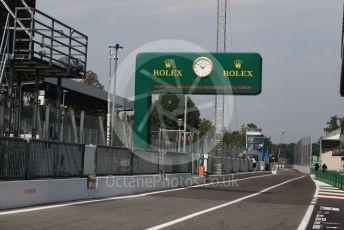 World © Octane Photographic Ltd. Formula 1 – Italian GP - Pit lane exit. Autodromo Nazionale Monza, Monza, Italy. Thursday 4th September 2019.