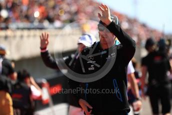 World © Octane Photographic Ltd. Formula 1 – Japanese GP - Drivers' Parade. ROKiT Williams Racing FW42 – Robert Kubica. Suzuka Circuit, Suzuka, Japan. Sunday 13th October 2019.