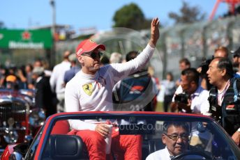 World © Octane Photographic Ltd. Formula 1 – Japanese GP - Drivers' Parade. Scuderia Ferrari SF90 – Sebastian Vettel. Suzuka Circuit, Suzuka, Japan. Sunday 13th October 2019.