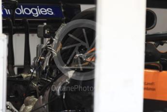 World © Octane Photographic Ltd. Formula 1 – Japanese GP - Paddock. McLaren MCL34. Suzuka Circuit, Suzuka, Japan. Thursday 10th October 2019.