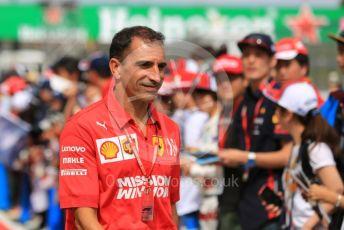 World © Octane Photographic Ltd. Formula 1 - Singapore GP - Paddock. Marc Gene - Scuderia Ferrari. Suzuka Circuit, Suzuka, Japan. Thursday 10th October 2019.