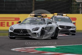 World © Octane Photographic Ltd. Formula 1 – Japanese GP - Practice 1. Mercedes AMG Safety and Medical cars. Suzuka Circuit, Suzuka, Japan. Friday 11th October 2019.