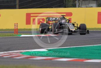 World © Octane Photographic Ltd. Formula 1 – Japanese GP - Practice 1. Haas F1 Team VF19 – Romain Grosjean. Suzuka Circuit, Suzuka, Japan. Friday 11th October 2019.