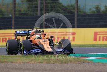 World © Octane Photographic Ltd. Formula 1 – Japanese GP - Practice 1. McLaren MCL34 – Lando Norris. Suzuka Circuit, Suzuka, Japan. Friday 11th October 2019.