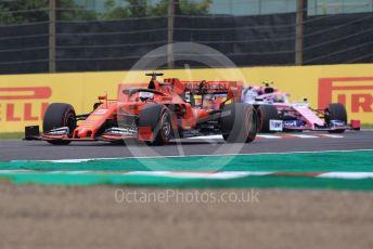 World © Octane Photographic Ltd. Formula 1 – Japanese GP - Practice 1. Scuderia Ferrari SF90 – Sebastian Vettel and SportPesa Racing Point RP19 – Lance Stroll. Suzuka Circuit, Suzuka, Japan. Friday 11th October 2019.