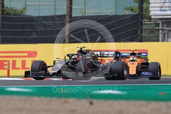 World © Octane Photographic Ltd. Formula 1 – Japanese GP - Practice 1. Haas F1 Team VF19 – Kevin Magnussen and McLaren MCL34 – Lando Norris. Suzuka Circuit, Suzuka, Japan. Friday 11th October 2019.
