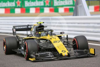 World © Octane Photographic Ltd. Formula 1 – Japanese GP - Practice 1. Renault Sport F1 Team RS19 – Nico Hulkenberg. Suzuka Circuit, Suzuka, Japan. Friday 11th October 2019.