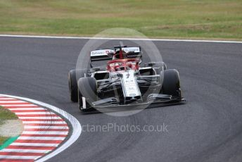 World © Octane Photographic Ltd. Formula 1 – Japanese GP - Practice 1. Alfa Romeo Racing C38 – Kimi Raikkonen. Suzuka Circuit, Suzuka, Japan. Friday 11th October 2019.