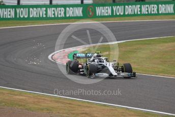 World © Octane Photographic Ltd. Formula 1 – Japanese GP - Practice 1. Mercedes AMG Petronas Motorsport AMG F1 W10 EQ Power+ - Valtteri Bottas. Suzuka Circuit, Suzuka, Japan. Friday 11th October 2019.