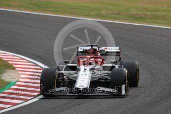 World © Octane Photographic Ltd. Formula 1 – Japanese GP - Practice 1. Alfa Romeo Racing C38 – Kimi Raikkonen. Suzuka Circuit, Suzuka, Japan. Friday 11th October 2019.