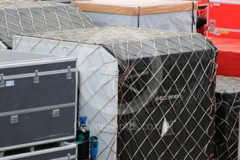 World © Octane Photographic Ltd. Formula 1 – Japanese GP - Practice 2. McLaren shipping container. Suzuka Circuit, Suzuka, Japan. Friday 11th October 2019.