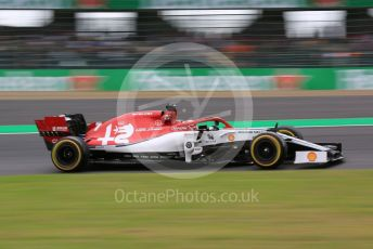 World © Octane Photographic Ltd. Formula 1 – Japanese GP - Practice 2. Alfa Romeo Racing C38 – Kimi Raikkonen. Suzuka Circuit, Suzuka, Japan. Friday 11th October 2019.