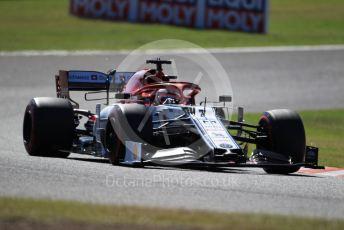 World © Octane Photographic Ltd. Formula 1 – Japanese GP - Qualifying. Alfa Romeo Racing C38 – Kimi Raikkonen. Suzuka Circuit, Suzuka, Japan. Sunday 13th October 2019.