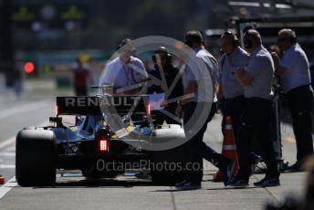 World © Octane Photographic Ltd. Formula 1 – Japanese GP - Qualifying. Renault Sport F1 Team RS19 – Daniel Ricciardo at the FIA weigh bridge. Suzuka Circuit, Suzuka, Japan. Sunday 13th October 2019.