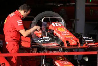 World © Octane Photographic Ltd. Formula 1 – Japanese GP - Setup and rebuild. Scuderia Ferrari SF90 – Charles Leclerc. Suzuka Circuit, Suzuka, Japan. Sunday 13th October 2019.