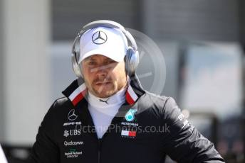 World © Octane Photographic Ltd. Formula 1 – Japanese GP - Paddock. Mercedes AMG Petronas Motorsport AMG F1 W10 EQ Power+ - Valtteri Bottas. Suzuka Circuit, Suzuka, Japan. Sunday 13th October 2019.
