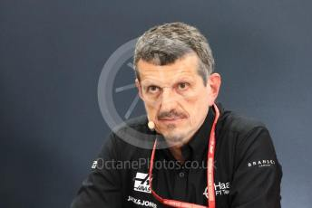 World © Octane Photographic Ltd. Formula 1 - Hungarian GP – Friday FIA Team Press Conference. Guenther Steiner - Team Principal of Haas F1 Team. Suzuka Circuit, Suzuka, Japan. Friday 11th October 2019.