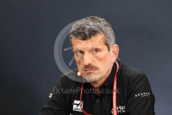 World © Octane Photographic Ltd. Formula 1 - Hungarian GP – Friday FIA Team Press Conference. Guenther Steiner - Team Principal of Haas F1 Team. Suzuka Circuit, Suzuka, Japan. Friday 11th October 2019.