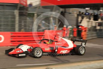 World © Octane Photographic Ltd. Formula Renault Eurocup – Monaco GP - Practice. Arden - Frank Bird. Monte-Carlo, Monaco. Thursday 23rd May 2019.