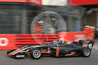 World © Octane Photographic Ltd. Formula Renault Eurocup – Monaco GP - Practice. M2 Competition – Yves Baltas. Monte-Carlo, Monaco. Thursday 23rd May 2019.