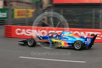 World © Octane Photographic Ltd. Formula Renault Eurocup – Monaco GP - Practice. FA Racing by Drivex - Brad Benavides. Monte-Carlo, Monaco. Thursday 23rd May 2019.