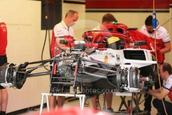 World © Octane Photographic Ltd. Formula 1 – Monaco GP. Setup. Alfa Romeo Racing C38 – Kimi Raikkonen. Monte-Carlo, Monaco. Wednesday 22nd May 2019.
