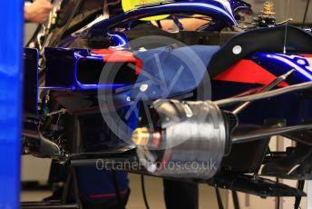 World © Octane Photographic Ltd. Formula 1 – Monaco GP. Setup. Scuderia Toro Rosso STR14. Monte-Carlo, Monaco. Wednesday 22nd May 2019.