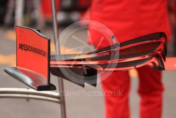 World © Octane Photographic Ltd. Formula 1 – Monaco GP. Setup. Scuderia Ferrari SF90. Monte-Carlo, Monaco. Wednesday 22nd May 2019.