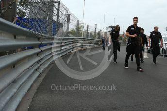 World © Octane Photographic Ltd. FIA Formula 2 (F2) – Monaco GP - Track Walk. MP Motorsport – Artem Markelov. Monte-Carlo, Monaco. Thursday 23rd May 2019.