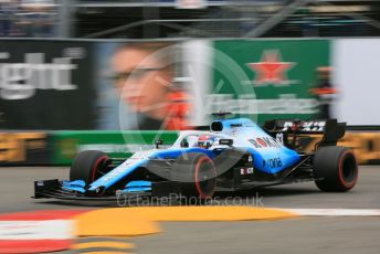 World © Octane Photographic Ltd. Formula 1 – Monaco GP. Practice 1. ROKiT Williams Racing FW 42 – George Russell. Monte-Carlo, Monaco. Thursday 23rd May 2019.