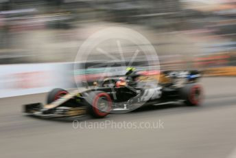 World © Octane Photographic Ltd. Formula 1 – Monaco GP. Practice 1. Rich Energy Haas F1 Team VF19 – Kevin Magnussen. Monte-Carlo, Monaco. Thursday 23rd May 2019.