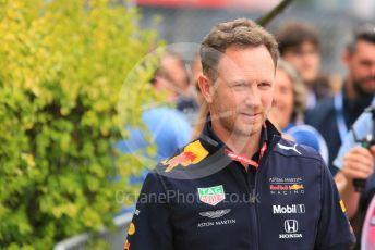 World © Octane Photographic Ltd. Formula 1 - Monaco GP. Practice 1. Christian Horner - Team Principal of Red Bull Racing. Monte-Carlo, Monaco. Thursday 23rd May 2019.