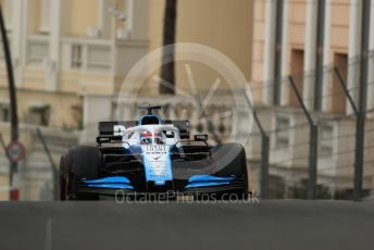 World © Octane Photographic Ltd. Formula 1 – Monaco GP. Practice 1. ROKiT Williams Racing FW 42 – George Russell. Monte-Carlo, Monaco. Thursday 23rd May 2019.