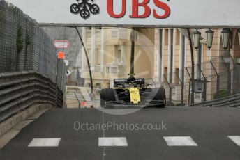 World © Octane Photographic Ltd. Formula 1 – Monaco GP. Practice 1. Renault Sport F1 Team RS19 – Nico Hulkenberg. Monte-Carlo, Monaco. Thursday 23rd May 2019.