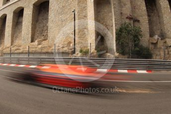 World © Octane Photographic Ltd. Formula 1 – Monaco GP. Practice 2. Aston Martin Red Bull Racing RB15 – Pierre Gasly. Monte-Carlo, Monaco. Thursday 23rd May 2019.