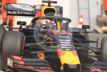 World © Octane Photographic Ltd. Formula 1 – Monaco GP. Practice 2. Aston Martin Red Bull Racing RB15 – Max Verstappen. Monte-Carlo, Monaco. Thursday 23rd May 2019.