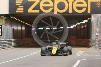 World © Octane Photographic Ltd. Formula 1 – Monaco GP. Practice 2. Renault Sport F1 Team RS19 – Nico Hulkenberg. Monte-Carlo, Monaco. Thursday 23rd May 2019.