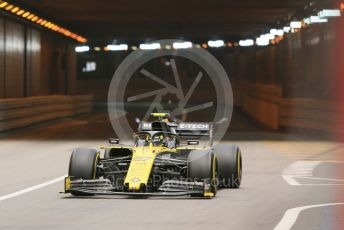 World © Octane Photographic Ltd. Formula 1 – Monaco GP. Practice 2. Renault Sport F1 Team RS19 – Nico Hulkenberg. Monte-Carlo, Monaco. Thursday 23rd May 2019.