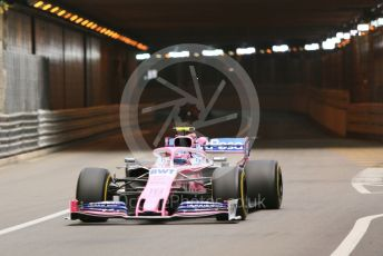 World © Octane Photographic Ltd. Formula 1 – Monaco GP. Practice 2. SportPesa Racing Point RP19 – Lance Stroll. Monte-Carlo, Monaco. Thursday 23rd May 2019.