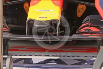 World © Octane Photographic Ltd. Formula 1 – Monaco GP. Practice 3. Aston Martin Red Bull Racing RB15 nose. Monte-Carlo, Monaco. Saturday 25th May 2019.