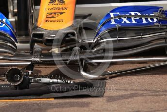 World © Octane Photographic Ltd. Formula 1 – Monaco GP. Practice 3. McLaren. Monte-Carlo, Monaco. Saturday 25th May 2019.