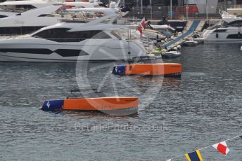 World © Octane Photographic Ltd. Formula 1 – Monaco GP. Practice 3. McLaren boats. Monte-Carlo, Monaco. Saturday 25th May 2019.
