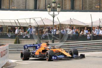 World © Octane Photographic Ltd. Formula 1 – Monaco GP. Practice 3. McLaren MCL34 – Carlos Sainz. Monte-Carlo, Monaco. Saturday 25th May 2019.