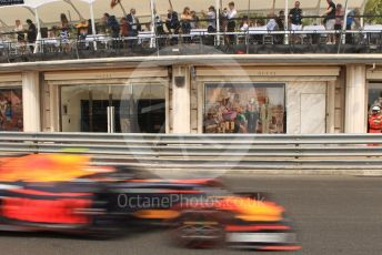 World © Octane Photographic Ltd. Formula 1 – Monaco GP. Practice 3. Aston Martin Red Bull Racing RB15 – Pierre Gasly. Monte-Carlo, Monaco. Saturday 25th May 2019.