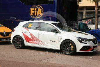 World © Octane Photographic Ltd. Formula 1 – Monaco GP. Practice 3. Renault show run cars. Monte-Carlo, Monaco. Saturday 25th May 2019.