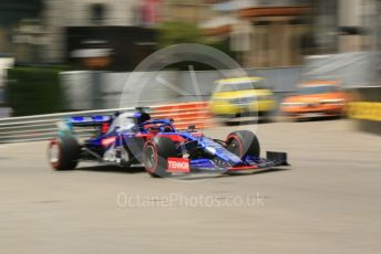 World © Octane Photographic Ltd. Formula 1 – Monaco GP. Practice 3. Scuderia Toro Rosso STR14 – Daniil Kvyat. Monte-Carlo, Monaco. Saturday 25th May 2019.