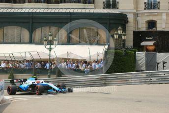 World © Octane Photographic Ltd. Formula 1 – Monaco GP. Practice 3. ROKiT Williams Racing FW42 – Robert Kubica. Monte-Carlo, Monaco. Saturday 25th May 2019.