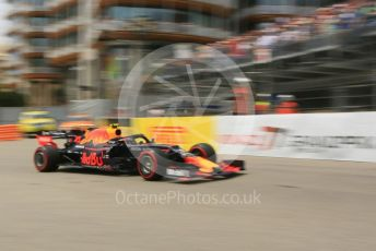 World © Octane Photographic Ltd. Formula 1 – Monaco GP. Practice 3. Aston Martin Red Bull Racing RB15 – Pierre Gasly. Monte-Carlo, Monaco. Saturday 25th May 2019.