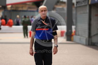 World © Octane Photographic Ltd. Formula 1 - Monaco GP. Practice 3. Franz Tost – Team Principal of Scuderia Toro Rosso. Monte-Carlo, Monaco. Saturday 25th May 2019.